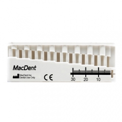 Dental MacDent MINI-ENDO-BLOC Endo Root Canal Measuring Ruler