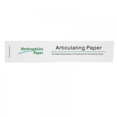 Dental Hydrophilic Paper Articulating paper 12 Books Straight bar type 110*21mm